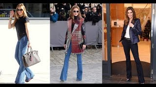 Boot cut jeans outfits ideas 2018