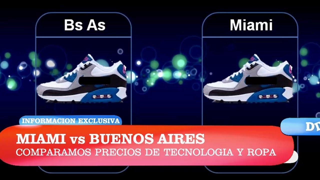Comparamos los precios de las zapatillas entre Miami y Buenos Aires ... cae9d6be7fb