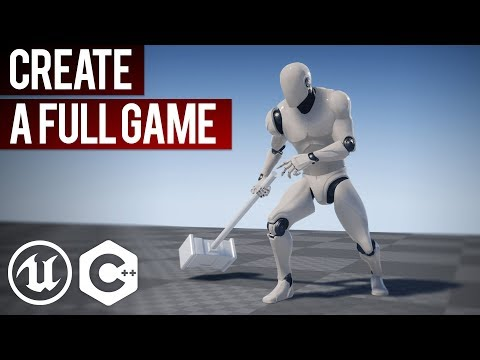 Unreal Engine Step By Step Tutorial | How To Create A Game In UE4 And C++ | UE4 C++ Tutorial thumbnail