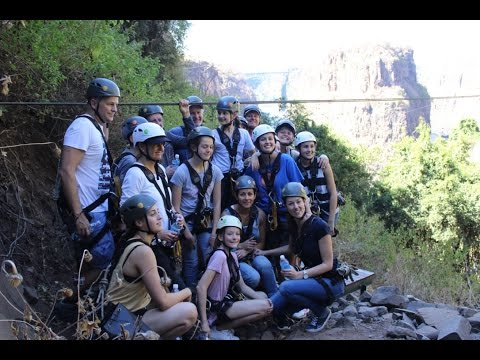 Victoria Falls Dillon Family (extended) Canopy Tour