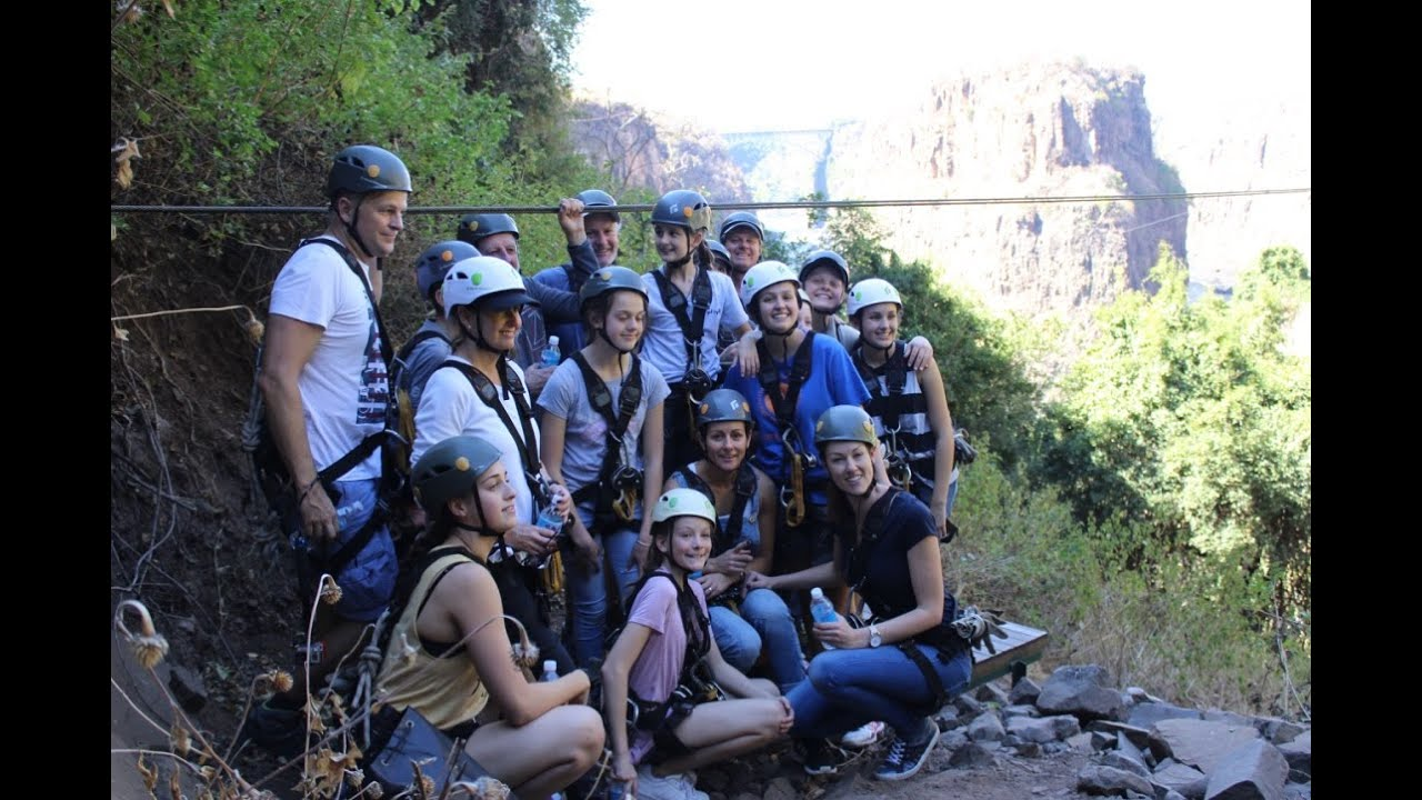 Victoria Falls Dillon Family Extended Canopy Tour Youtube