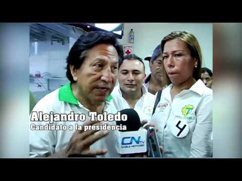 Alejandro Toledo en pachacutec