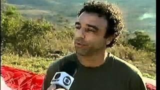 Reportagem MG TV sobre parapente em Montes Claros