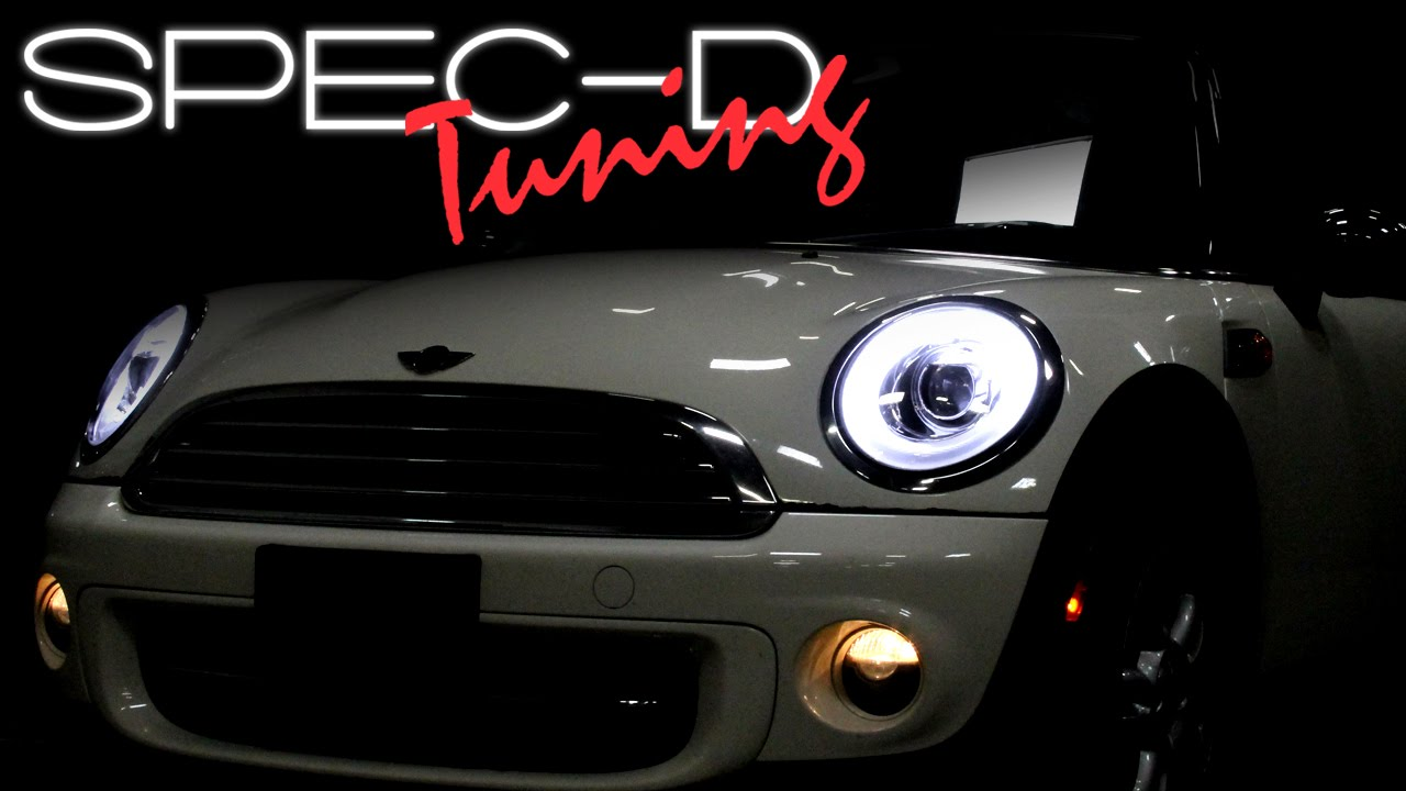 Specdtuning Installation Video 2007 2017 Mini Cooper Projector Headlights You