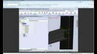 eTip 30 Noviembre 2010 -  Diseño de Estructuras Metalicas con SteelWorks (3 de 3).wmv