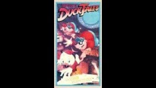 Opening And Closing To DuckTales:Masked Maruaders 1988 VHS
