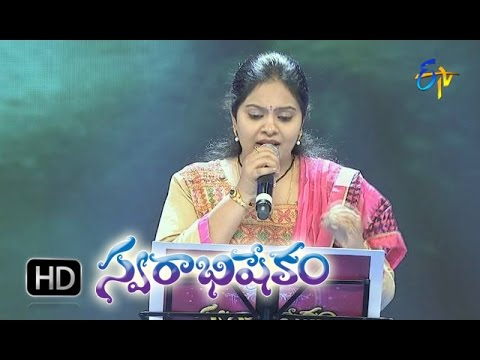Nuvve Na Shwasa Song - Gopikaa Purnima Performance in ETV Swarabhishekam - 15th Nov 2015