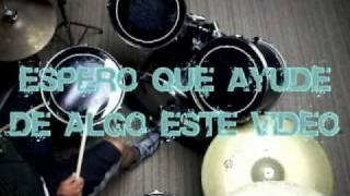 vamos a cantar con la musica del cielo (bateria-drums)