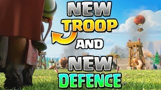 CLASH OF CLANS OFFICIAL UPDATE LEAKS | NEW TROOPS & DEFENSE | NEW UPDATE GAMEPLAY