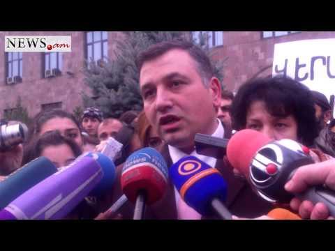 Vardan Petrosyan's lawyer