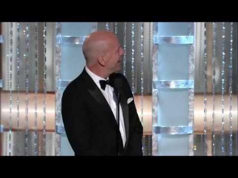 Golden Globes 2011: Bruce Willis is Ashton Kutcher's Dad