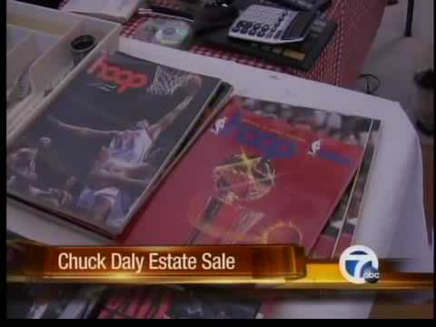 Chuck Daly estate sale