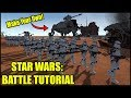 How to Make a Star Wars Battle - Men of War: Star Wars Galaxy at War Mod Editor Tutorial