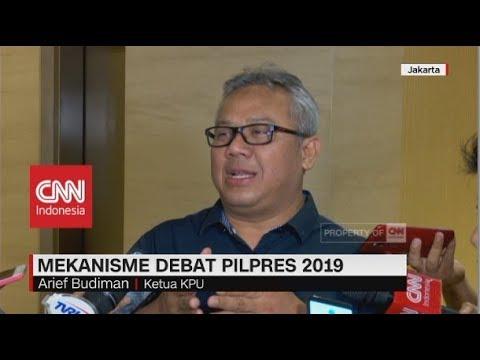 Mekanisme Debat Pilpres 2019