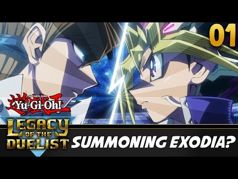 Let's Play Yu-Gi-Oh! Legacy of the Duelist Part 1 w/ ShadyPenguinn | Summon Exodia?!