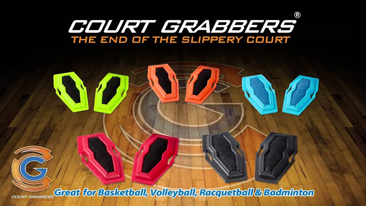 61b6d7b0e3239 How to Stop Slippery Basketball Shoes  Court Grabbers Worn on Shoes -  YouTube
