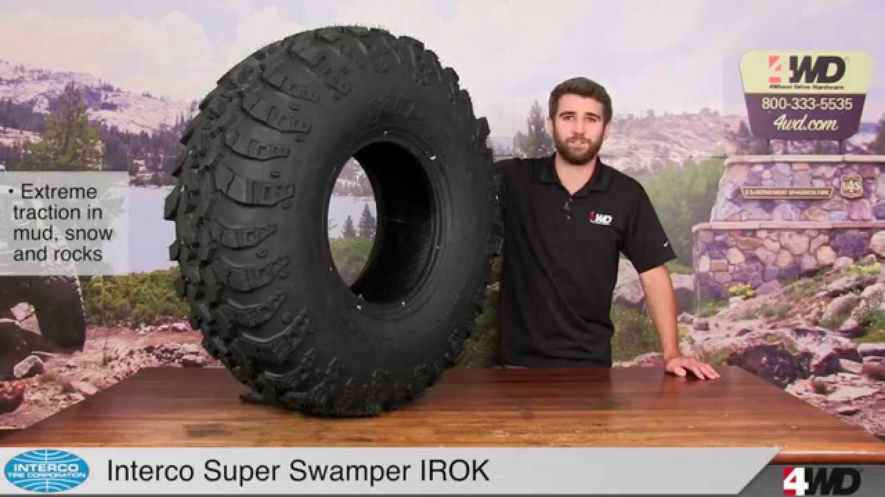 Interco Super Swamper Irok Tires Youtube