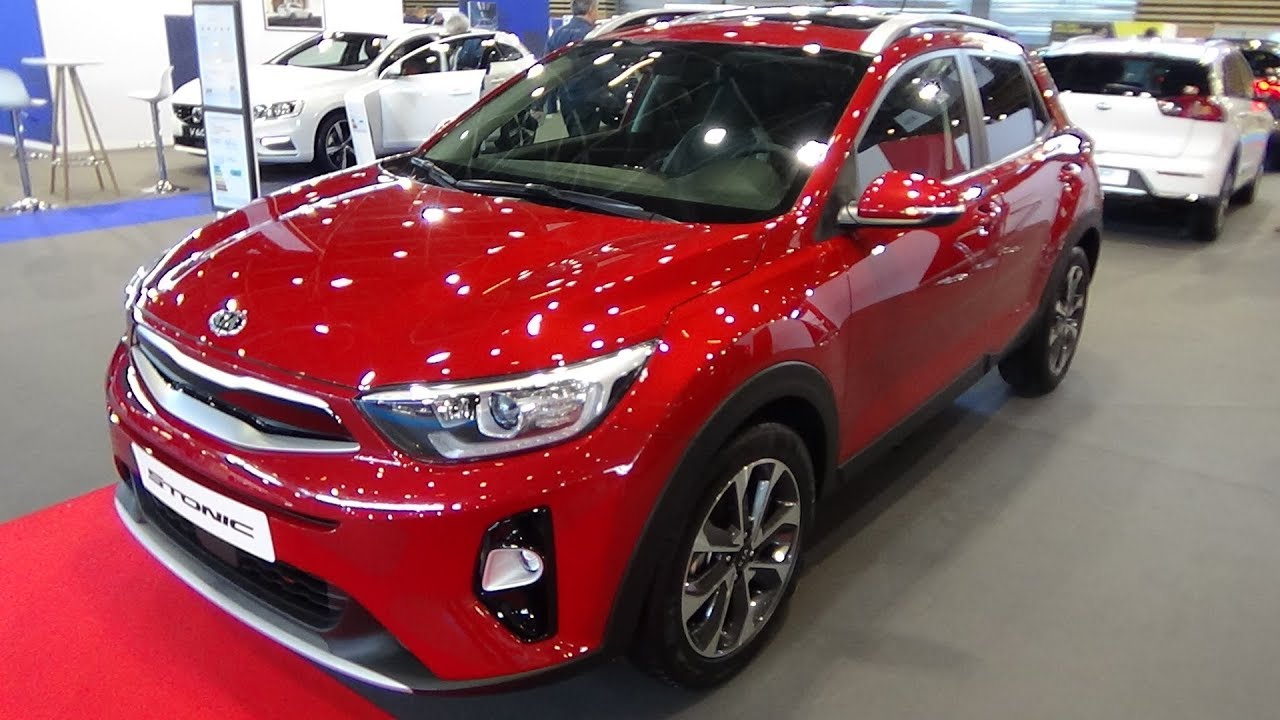 2018 kia stonic 1.0 t-gdi 120 - exterior and interior - salon
