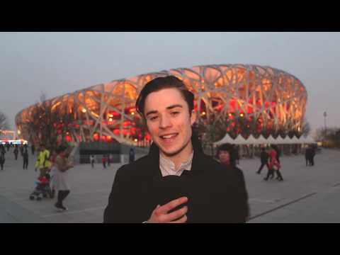 Behind the Curtain in Beijing!