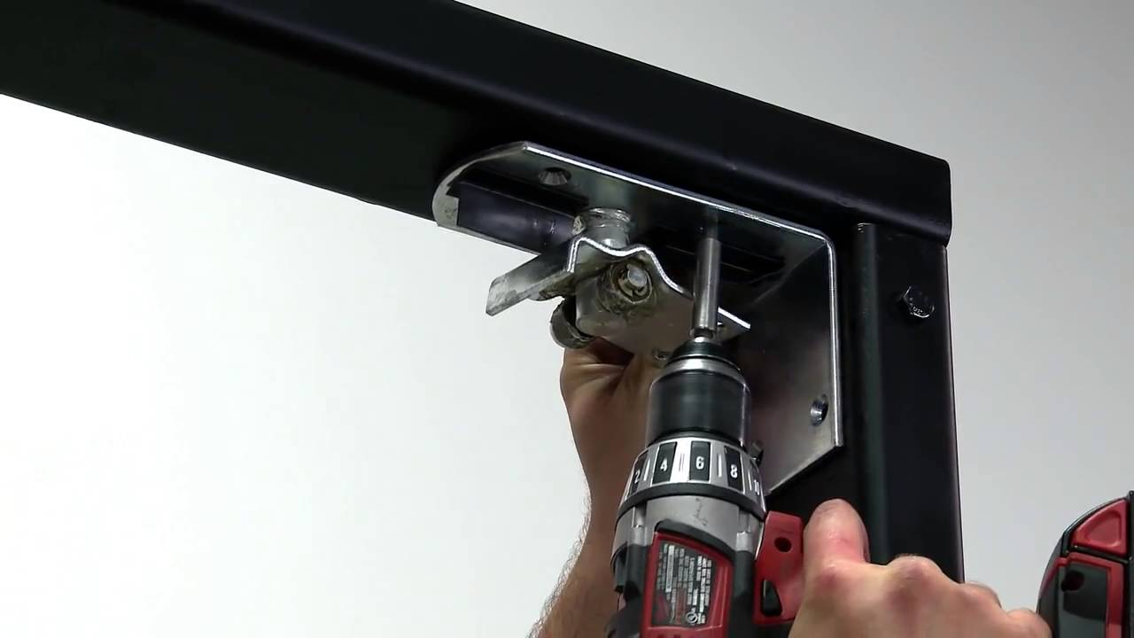 3 Steps To Install An Eliason Easy Swing Door Youtube