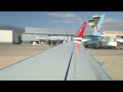 **Trip Report** Norwegian D8 5950 Las Palmas (Gran Canaria) - Hamburg Boeing 737-800 / Dezember