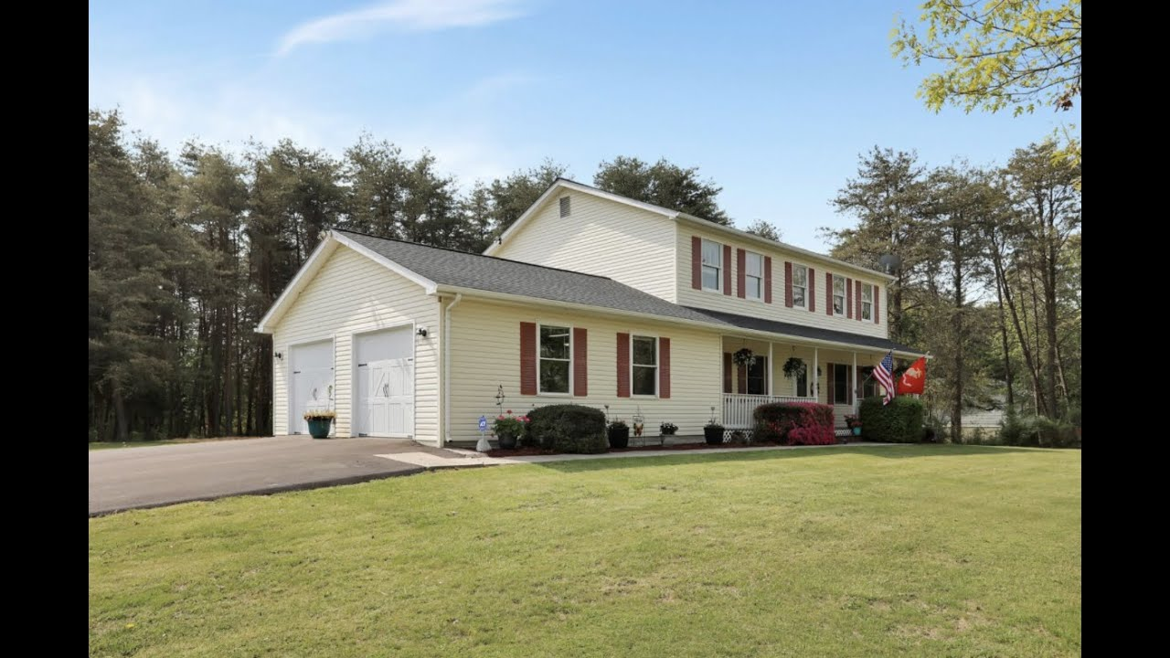 JUST LISTED! Colonial Home on 1.89 acres at 264 Shiley Rd Inwood WV 25428!