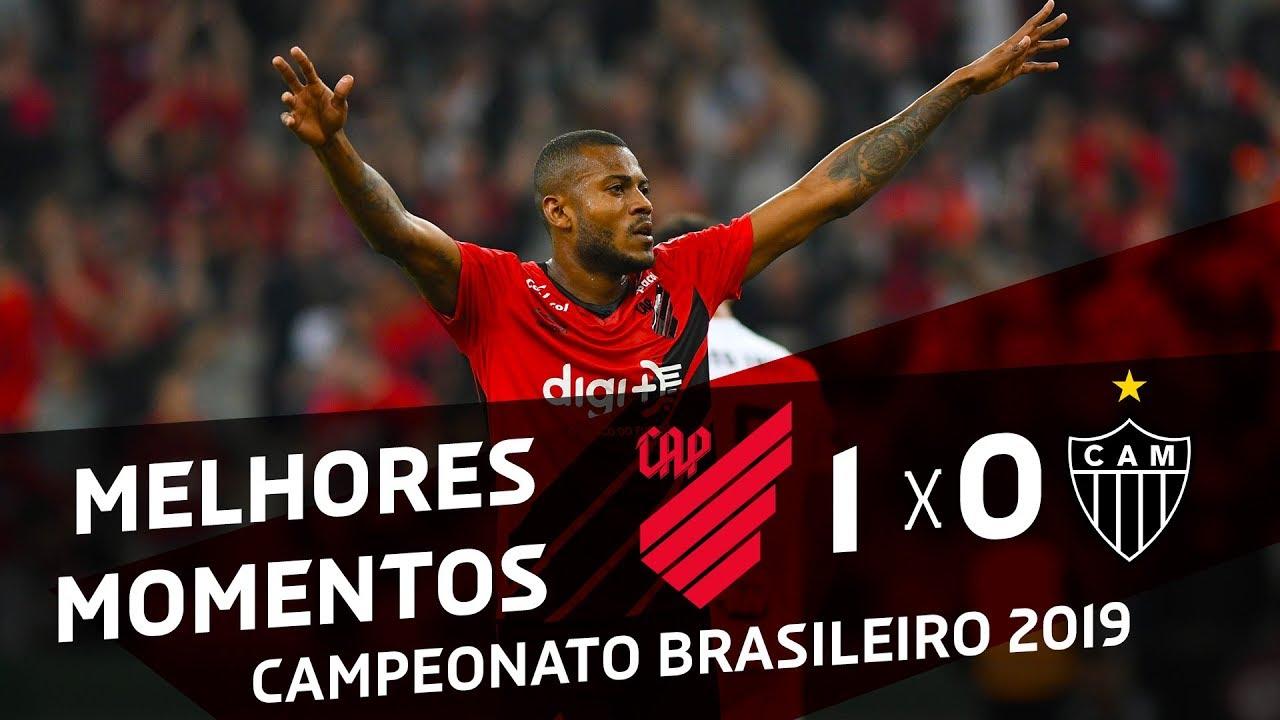 Athletico Paranaense 1x0 Atlético Mineiro Melhores