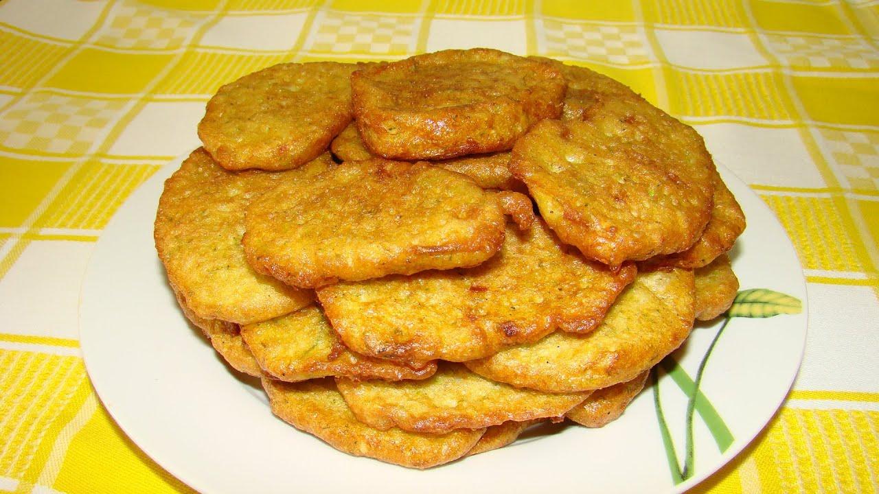 оладьи из кабачков видео рецепт