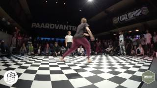 Bgirlsessions bgirl battle 1on1 - prelim - Camine vs Uma vs Sara