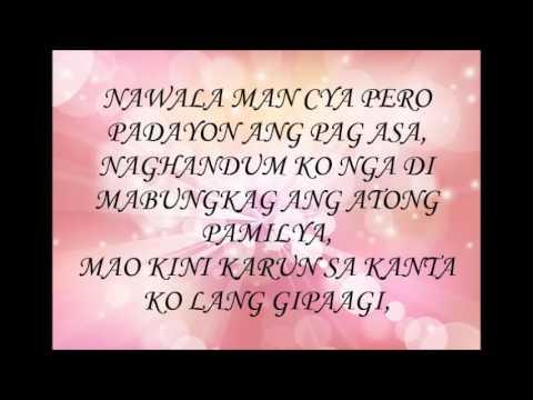 kung wala ka (lyrics)