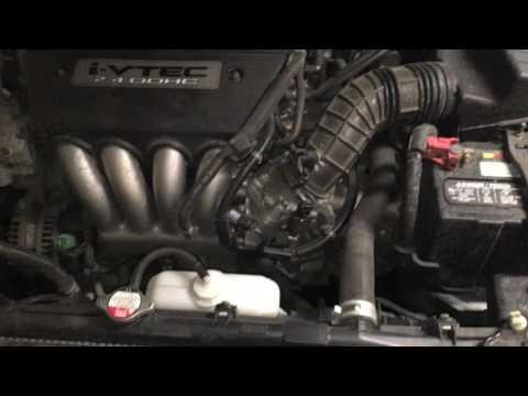 Honda Accord High Idle Fix