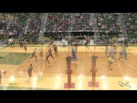 Bronze 2017 U SPORTS FOG Men's Volleyball Championship UBC vs McMaster