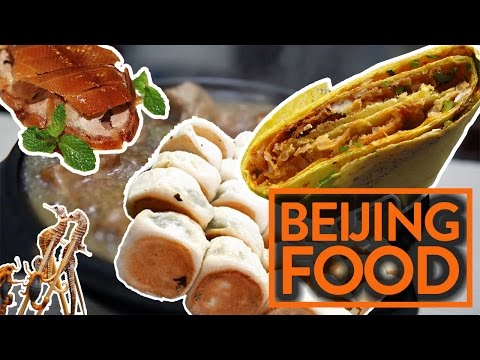EPIC BEIJING FOOD CRAWL (WE EAT A SCORPION) - Fung Bros Food