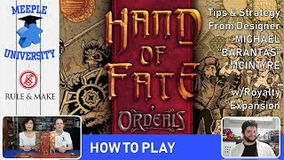 """Hand of Fate: Ordeals Board Game – How to Play & Setup, with  Michael """"Barantas"""" McIntyre"""
