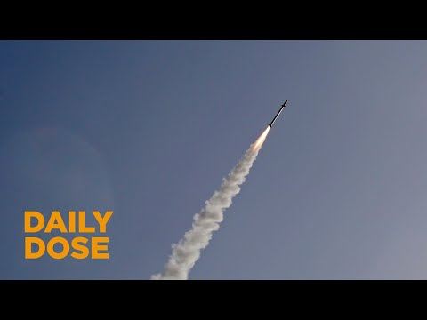 Iron Dome Intercepts 4 Syrian Rockets Fired at Israel
