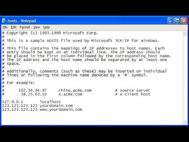 Todos los bloqueos de archivos HOSTS - Windows/Mac/Linux