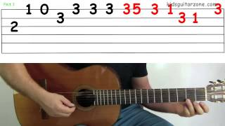 Guitar Lesson 4J: Jingle Bells Verse
