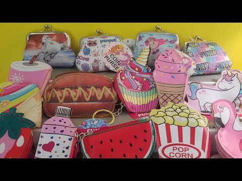 Cute Coin Purses And Purse Keychains From Dollar Tree #dollartree #unicorns