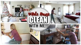 WHOLE HOUSE CLEAN WITH ME 2018 | EXTREME CLEANING MOTIVATION | SPEED CLEANING