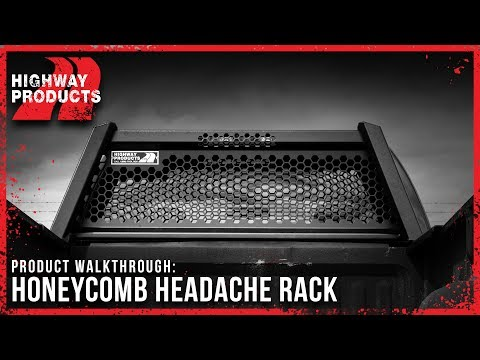 Highway Products | Honeycomb<sup>&trade;</sup> Headache Rack