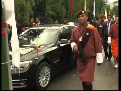 Bhutan welcomes Indian Prime Minister Modi with traditional 'Chibdrel' procession
