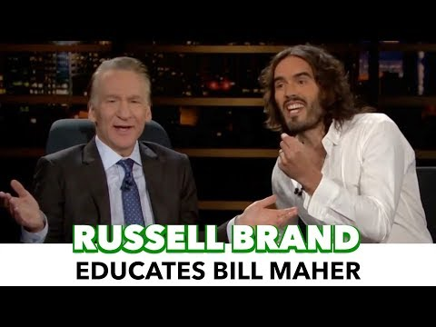 Russell Brand Educates Bill Maher On Neoliberal Failures