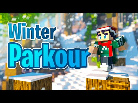 Winter Parkour | Minecraft Marketplace Map