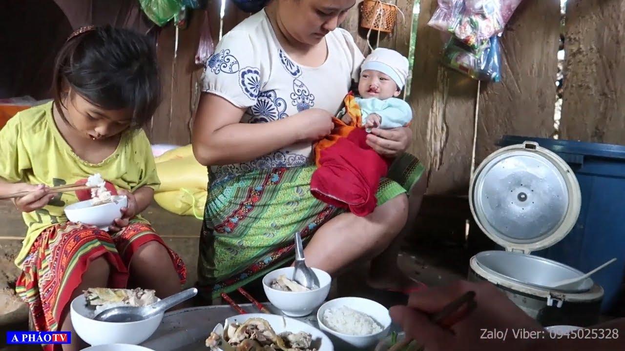 Sữa mẹ có nhưng con hở hàm ếch  không bú được - Thương lắm bé 3 tháng tuổi nặng 4kg