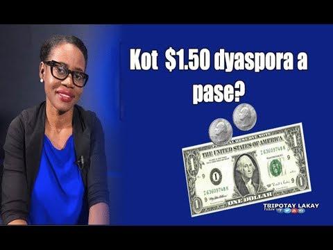 Kot lajan $1.50 leta ap pran sou dyaspora yo? Pòt Pawòl prezidans lan ap reponn