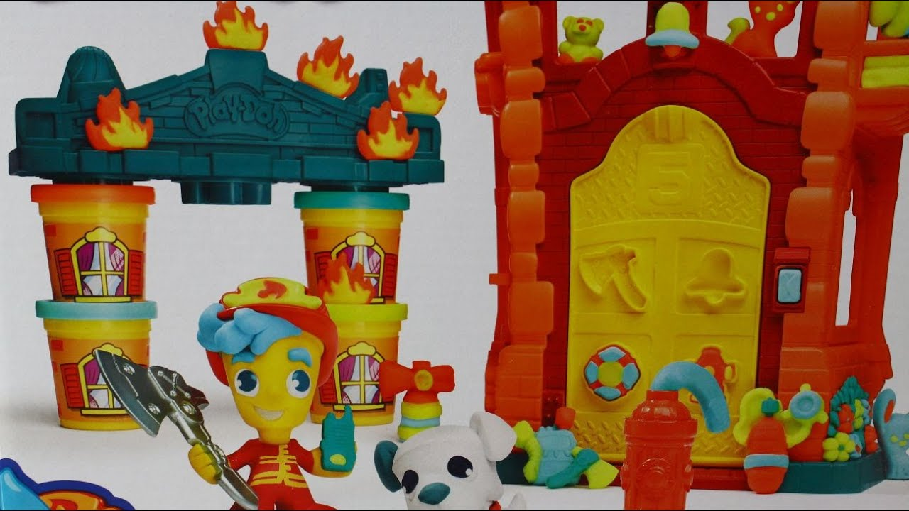 Hasbro - Play-Doh Town / Плей-До Город (Таун) - Firehouse .