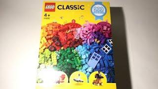 "LEGO Classic 11005 ""Creative Fun"" Unboxing, Part Analysis, Speedbuild & Review"