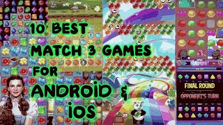 The Best Match 3 Games For Ios