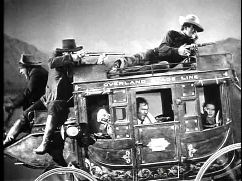Stagecoach horse chase