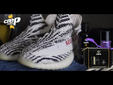 HOW TO CLEAN YOUR YEEZYS WITH CREP PROTECT